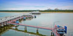 The LNG terminal in Swinoujscie, Poland