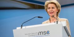 Ministre de la Défense Von der Leyen à la Munich Security Conference