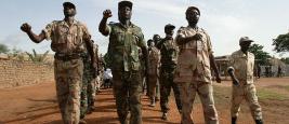Rebelles dans le Nord de la Centrafrique, juin 2007