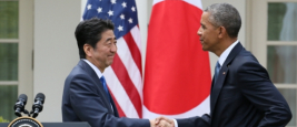 Shinzo Abe et Barack Obama, avril 2015
