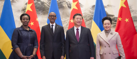 President Kagame and First Lady Jeannette Kagame received by President of China Xi Jinping and First Lady Peng Liyuan | Beijing, 17 March 2017