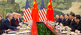 President Donald J.Trump participates in a bilateral meeting with President Xi Jinping, Great Hall of the People, 2017, Beijing