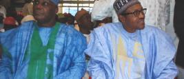 Atiku Abubakar et Muhammadu Buhari