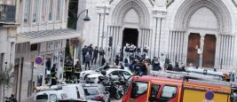 Die Basilika von Notre Dame in Nizza, wo ein junger Tunesier drei Menschen tötete