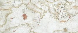 Carte de la région méditerranéenne