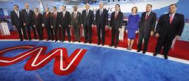 Etats-Unis : Débat des candidats républicains