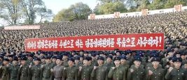 « Les Nord-coréens pourraient engager jusqu'à 700.000 hommes, 8.000 pièces d'artillerie, 2.000 chars, 300 avions de combat et une cinquantaine de sous-marins » en cas d'invasion de la Corée du Sud.