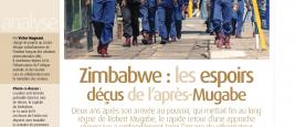 Couverture Zimbabwe - Diplomatie