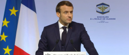 Discours du Président Emmanuel Macron, Ecole de guerre, 7 février 2020