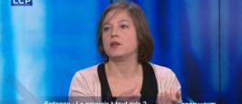 """Dorothée Schmid dans """"Droit de suite"""", LCP"""