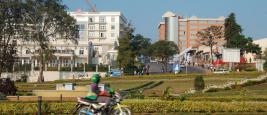 Vue de Kigali, la capitale du Rwanda (ici en 2007).