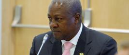 John Dramani Mahama, Président de la République du Ghana