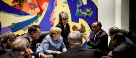 President Kagame meets with Chancellor of Germany Angela Merkel on the sidelines of the G20 Compact with Africa Conference | Berlin, October 30, 2018