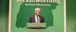 Discours du candidat des Verts, Bündnis 90/Die Grünen Baden-Württemberg