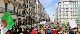 Algeria protest D. Ghanem