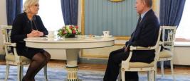 Путин на встрече с Ле Пен, баллотирующейся в президенты Франции, заявил, что Россия не хочет влиять на выборы