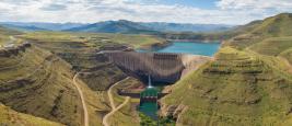 Barrage de Katse au Lesotho
