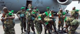 Mission internationale de soutien à la Centrafrique sous conduite africaine (MISCA)