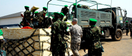 Mission internationale de soutien à la Centrafrique sous conduite africaine, Bangui
