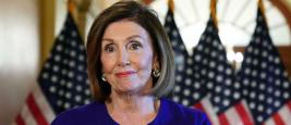 Nancy Pelosi, présidente de la chambre des représentants des États-Unis