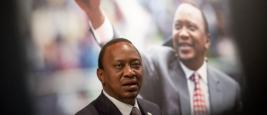Le Président du Kenya, Uhuru Kenyatta