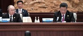 Vladimir Poutine et Xi Jinping, avril 2019