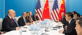 Donard Trump and Xi Jinping at the G20 2017