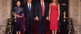 Donald Trump et Xi Jiping Avril 2017