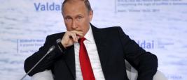 Vladimir Poutine au Club de Valdaï