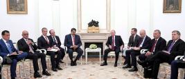 Rencontre entre Nicolas Maduro et Vladimir Poutine, septembre 2019