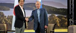 Vladimir Poutine Shinzo Abe
