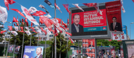 Istanbul,Turkey- June 11,2018: Ahead of Early Presidential and Parliamentary Elections