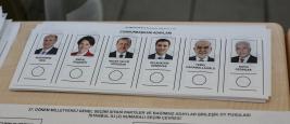 bulletins elections Turquie 2018