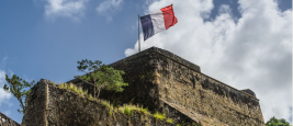 Fort Saint-Louis de la Marine nationale, Martinique.
