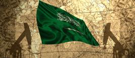 Drapeau de l'Arabie Saoudite. Esfera / Shutterstock
