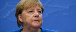 La chancelière Angela Merkel, Bruxelles, 17 octobre 2019