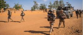 Soldats français au Mali en 2015