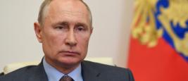 Vladimir Poutine - Moscou, September 2020