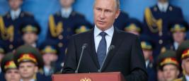 President Poutine, KUBINKA, RUSSIA - JUN 16, 2015