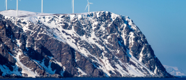 Arctic wind power