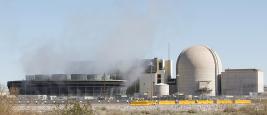 Centrale nucléaire de Palo Verde, Arizona, États-Unis - 27 janvier 2017.