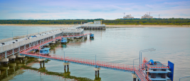 The LNG terminal in Swinoujscie, Poland