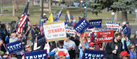 Trump Supporters at the Denver Pro-Trump Rally, Denver, CO, March 4th, 2017