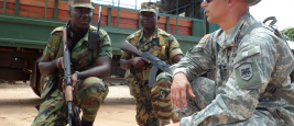 U.S. Army Africa ACOTA team trains Sierra Leone troops
