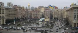Ukraine Kyiv Maidan Nezalezhnosti