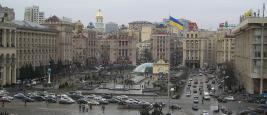 Maidan Nezalezhnosti, Independence Square, Kiev, Ukraine