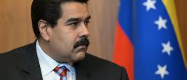 The President of Venezuela Nicolas Maduro