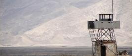 Tour de guet près de la frontière iranienne, Turquie