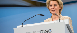 Ministre de la Défense Von der Leyen à la Munich Security Conference