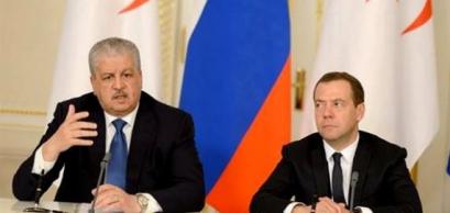 Abdelmalek Sellal, Dimitri Medvedev